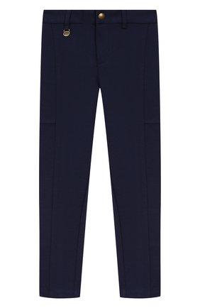 Детского брюки POLO RALPH LAUREN темно-синего цвета, арт. 311750857 | Фото 1