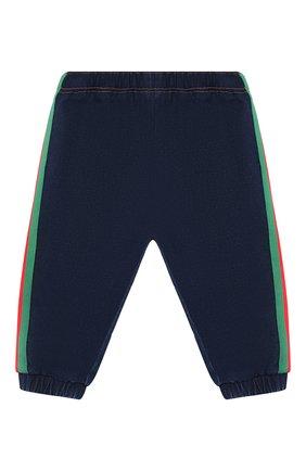 Детские джинсовые джоггеры GUCCI синего цвета, арт. 547187/XJA65 | Фото 1