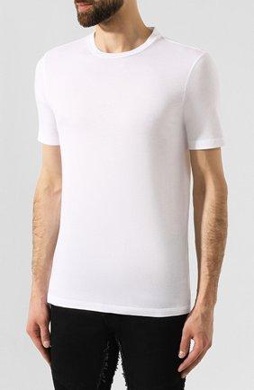Мужская комплект из хлопковых футболок NEIL BARRETT черно-белого цвета, арт. PBJT588/M554S | Фото 3