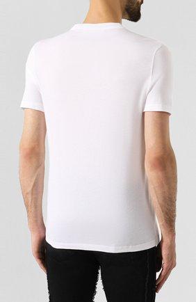 Мужская комплект из хлопковых футболок NEIL BARRETT черно-белого цвета, арт. PBJT588/M554S | Фото 4