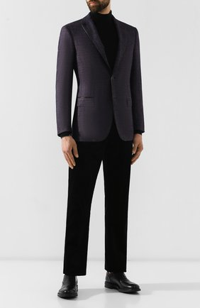 Мужской кашемировый пиджак ZILLI сиреневого цвета, арт. MNS-VG2Y-2-B6626/0002 | Фото 2