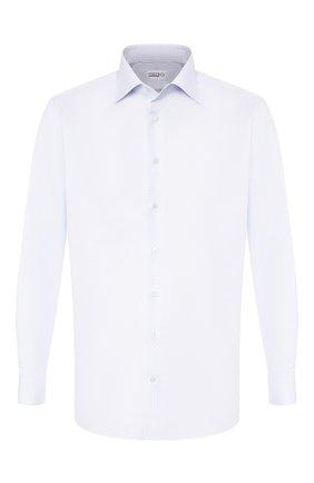 Мужская хлопковая сорочка ZILLI голубого цвета, арт. MFS-MERCU-04220/RZ01 | Фото 1
