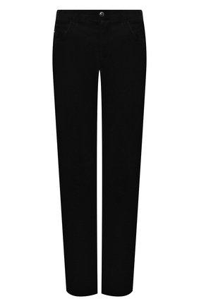 Мужской хлопковые брюки ZILLI черного цвета, арт. M0S-D0128-VEL01/R001 | Фото 1