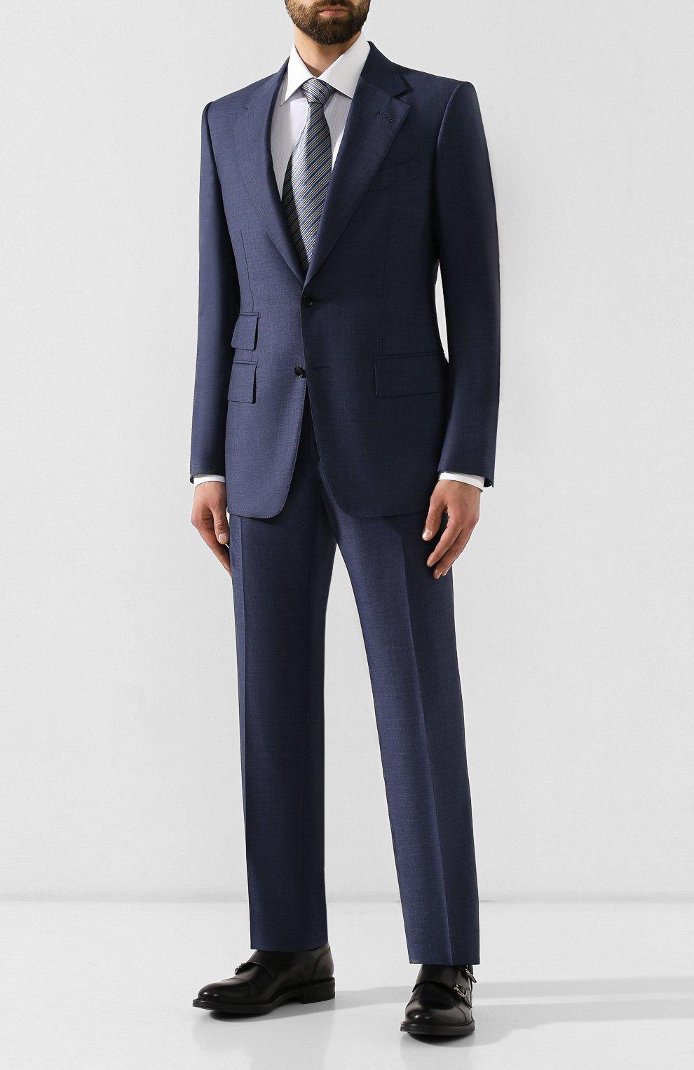 Мужские кожаные монки W.GIBBS черного цвета, арт. 3169013/0214 | Фото 2