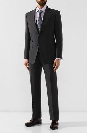 Мужские кожаные монки W.GIBBS бордового цвета, арт. 8378001/0221 | Фото 2