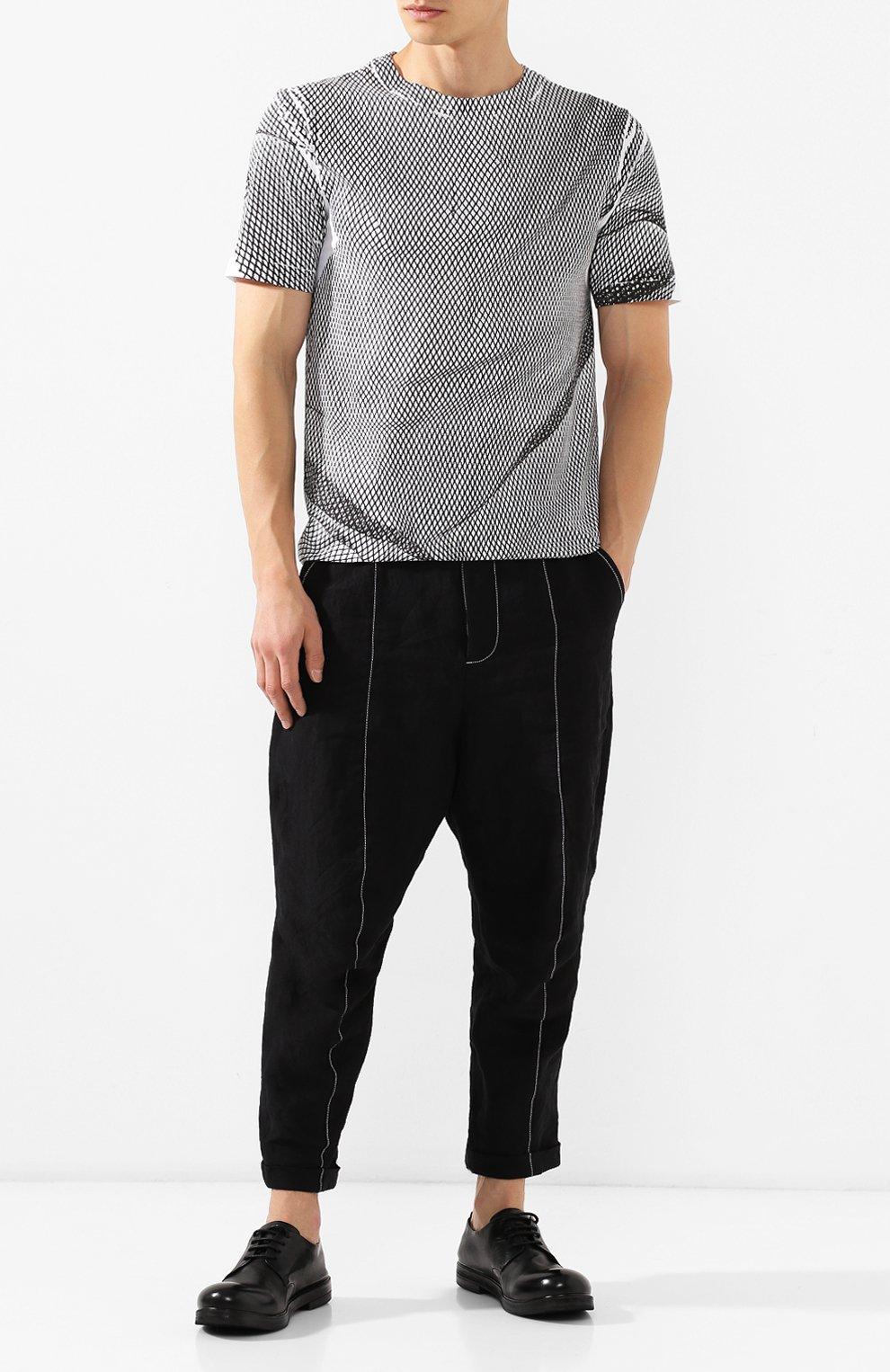 Мужские замшевые дерби MARSELL черного цвета, арт. MM1330/CAV.GLUC | Фото 2