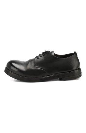 Мужские замшевые дерби MARSELL черного цвета, арт. MM1330/CAV.GLUC | Фото 3