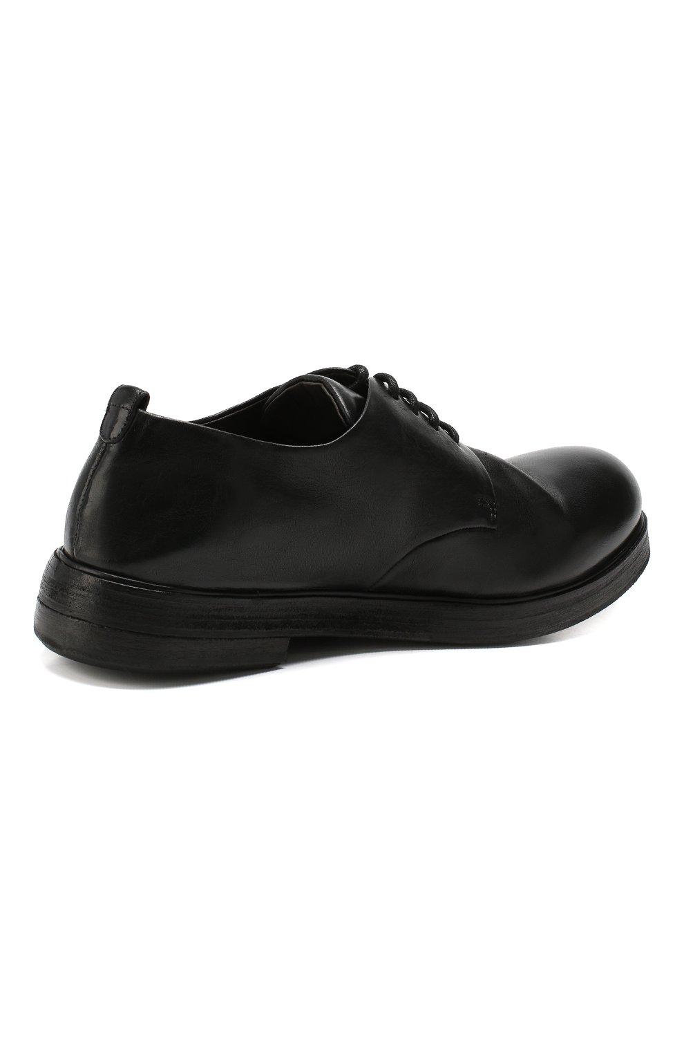 Мужские замшевые дерби MARSELL черного цвета, арт. MM1330/CAV.GLUC | Фото 4