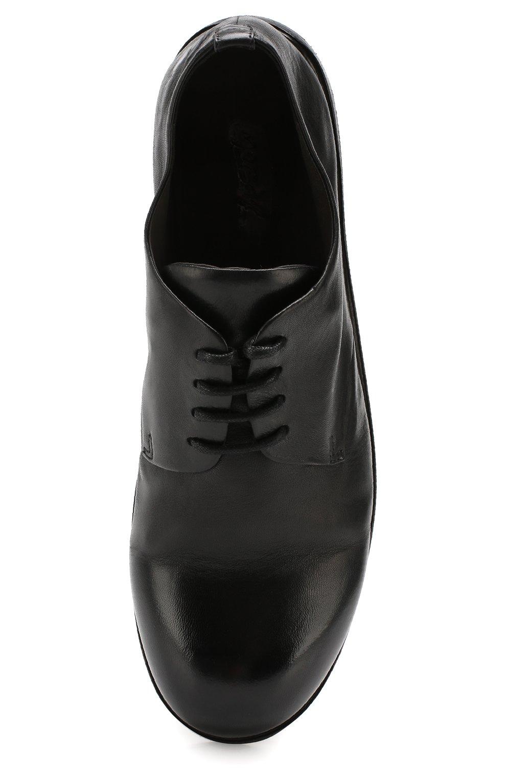 Мужские замшевые дерби MARSELL черного цвета, арт. MM1330/CAV.GLUC | Фото 5