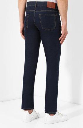 Мужские джинсы CANALI темно-синего цвета, арт. 91700R/PD00537 | Фото 4