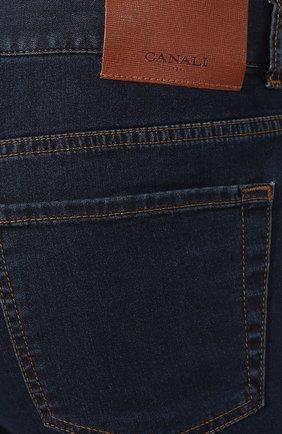 Мужские джинсы CANALI темно-синего цвета, арт. 91700R/PD00537 | Фото 5