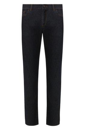 Мужские джинсы CANALI темно-синего цвета, арт. 91755R/PD00464   Фото 1