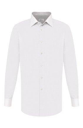 Мужская хлопковая сорочка BRIONI светло-серого цвета, арт. RCLU20/0806R | Фото 1