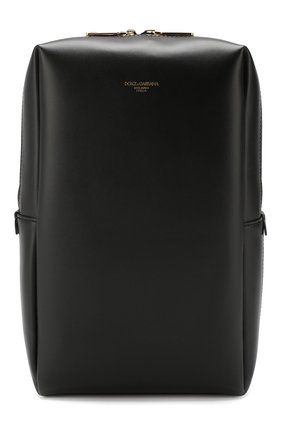 Мужской кожаный рюкзак montreale DOLCE & GABBANA черного цвета, арт. BM1689/AC954 | Фото 1
