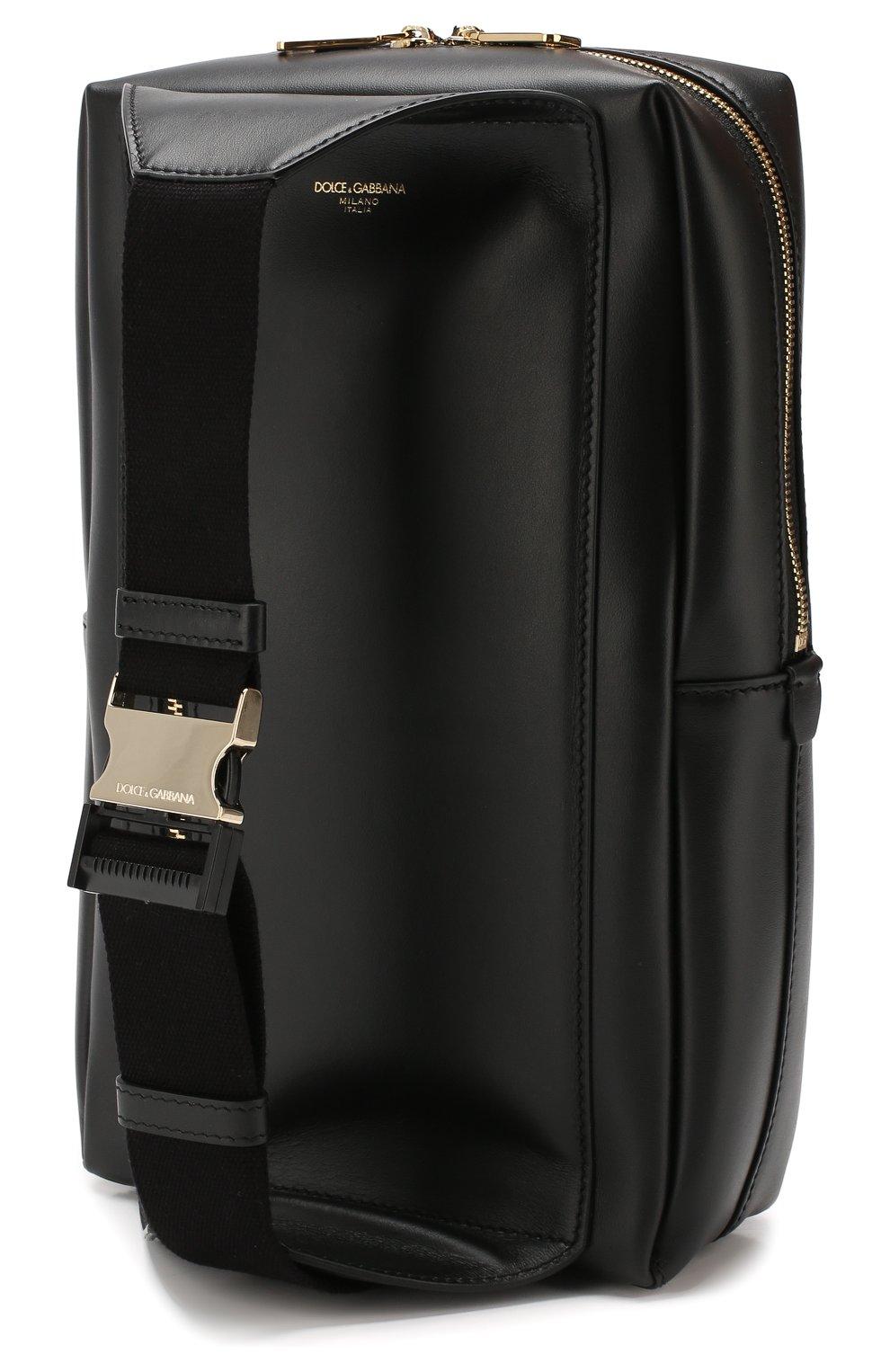Мужской кожаный рюкзак montreale DOLCE & GABBANA черного цвета, арт. BM1689/AC954 | Фото 3