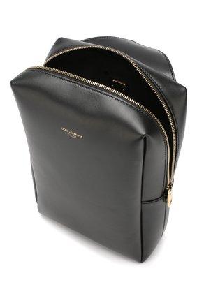 Мужской кожаный рюкзак montreale DOLCE & GABBANA черного цвета, арт. BM1689/AC954 | Фото 4