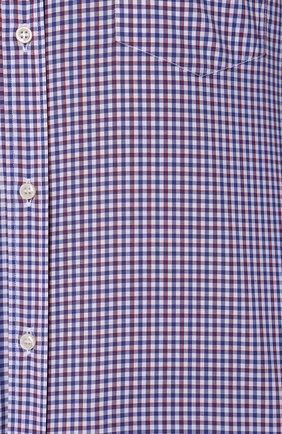 Мужская хлопковая сорочка PAUL&SHARK разноцветного цвета, арт. C0P3007/C00 | Фото 5