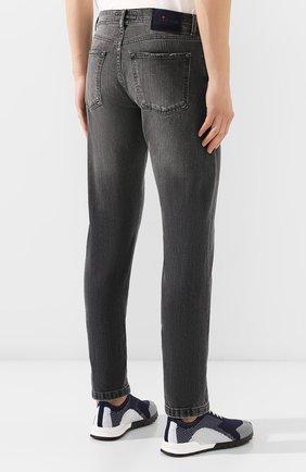 Мужские джинсы KITON серого цвета, арт. UPNJS/J03S53 | Фото 4
