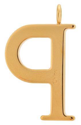 Женские подвеска для сумки alphabet key CHLOÉ золотого цвета, арт. CHC15WK00PCB79DA | Фото 2