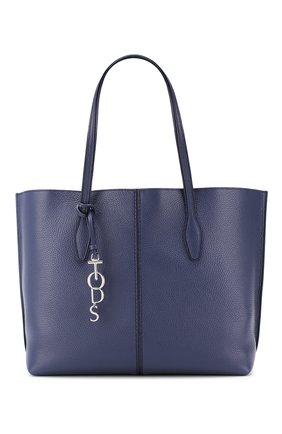 Женская сумка-тоут joy TOD'S синего цвета, арт. XBWANQAV400FFX | Фото 1