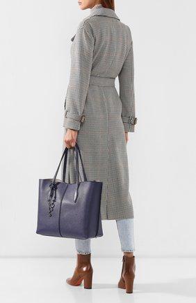 Женская сумка-тоут joy TOD'S синего цвета, арт. XBWANQAV400FFX | Фото 2