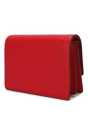 Сумка Valentino Garavani Go Logo Valentino красная цвета | Фото №3