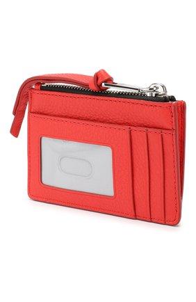 Женский кожаный футляр для кредитных карт MARC JACOBS (THE) красного цвета, арт. M0015123 | Фото 2