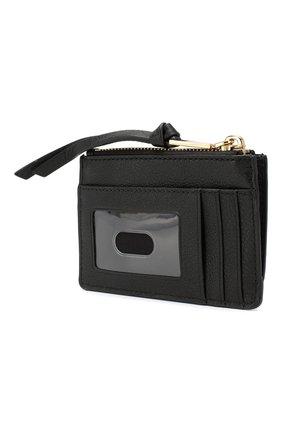 Женский кожаный футляр для кредитных карт MARC JACOBS (THE) черного цвета, арт. M0015123 | Фото 2