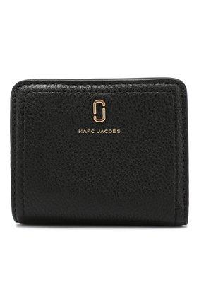 Женские кожаный кошелек MARC JACOBS (THE) черного цвета, арт. M0015122 | Фото 1