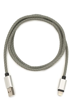Мужской кабель digital il-02 usb/lightning ROMBICA серого цвета, арт. CB-IL02 | Фото 1