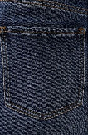 Женская джинсовая юбка BOSS темно-синего цвета, арт. 50415569 | Фото 5