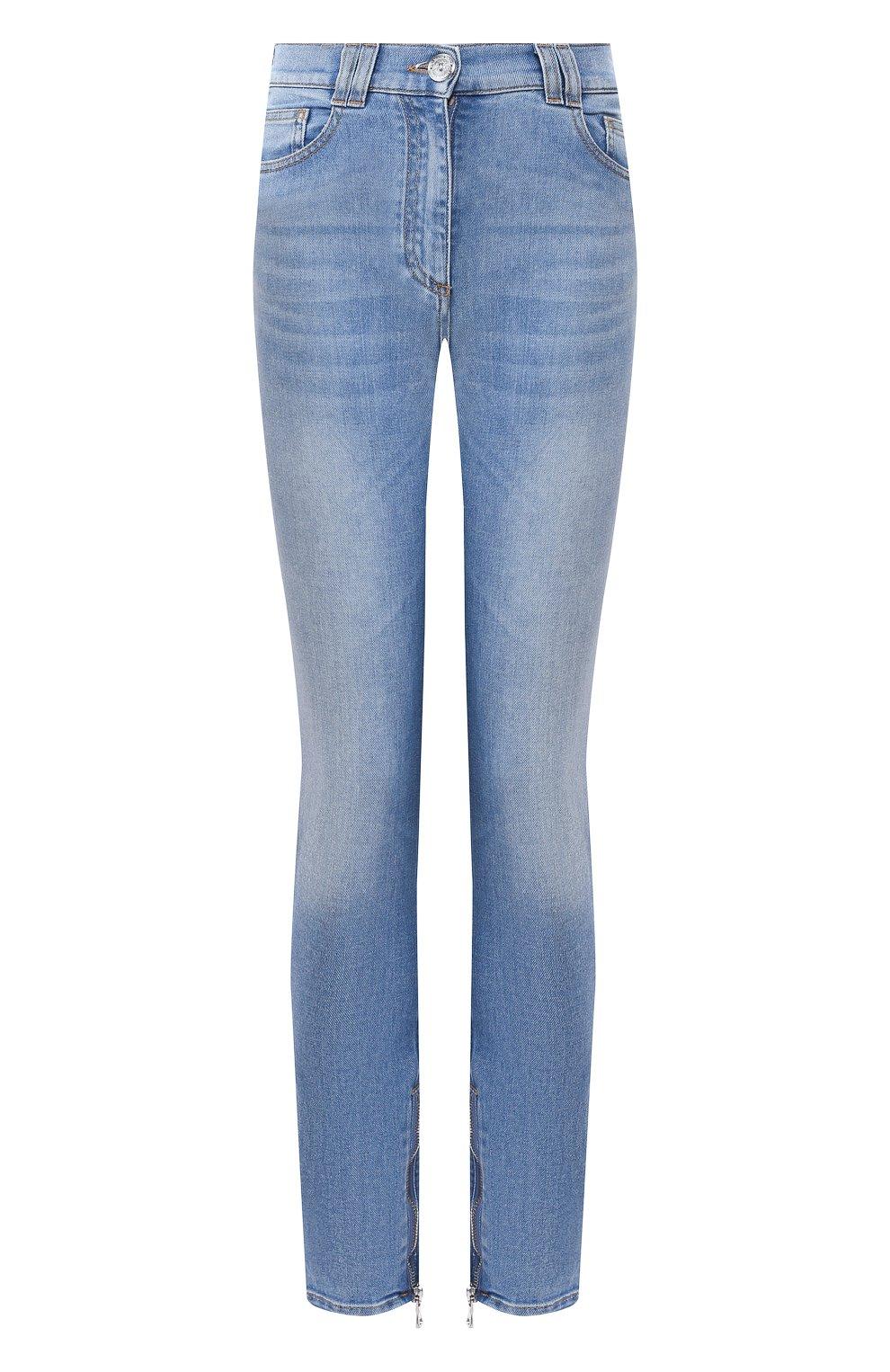 Женские джинсы BALMAIN голубого цвета, арт. SF15592/D067 | Фото 1