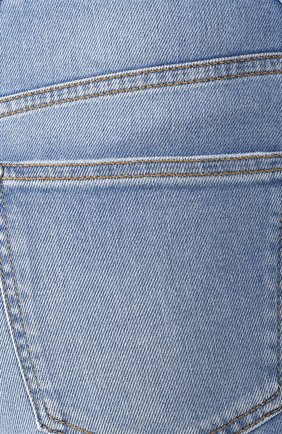 Женские джинсы BALMAIN голубого цвета, арт. SF15592/D067 | Фото 5