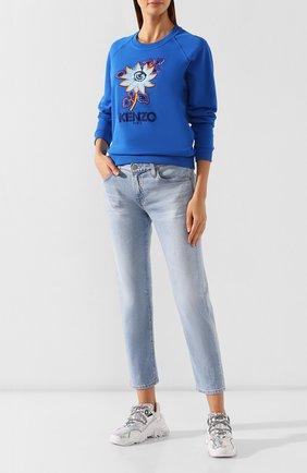 Женские джинсы AG голубого цвета, арт. DAS1575/26YSRE   Фото 2