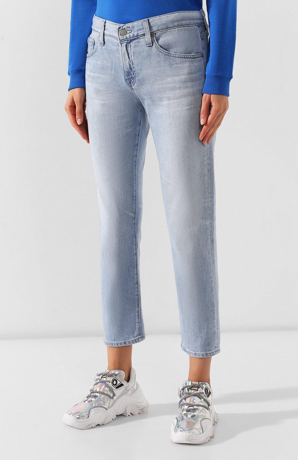 Женские джинсы AG голубого цвета, арт. DAS1575/26YSRE   Фото 3