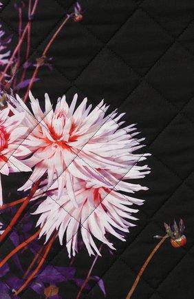 Женская стеганая юбка DRIES VAN NOTEN черного цвета, арт. 192-30815-8537 | Фото 5