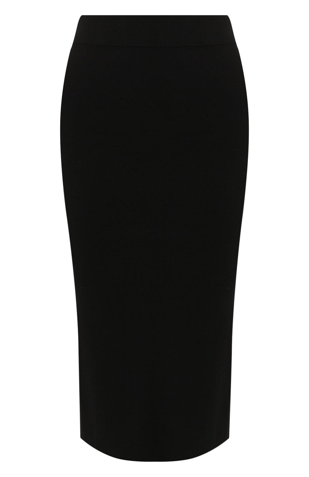 Женская юбка ALEXANDERWANG.T черного цвета, арт. 4KC2195000   Фото 1