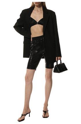 Женские шорты с пайетками IN THE MOOD FOR LOVE черного цвета, арт. DENISE SH0RT | Фото 2