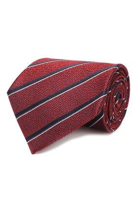 Мужской шелковый галстук ERMENEGILDO ZEGNA красного цвета, арт. Z6E34/1UM | Фото 1