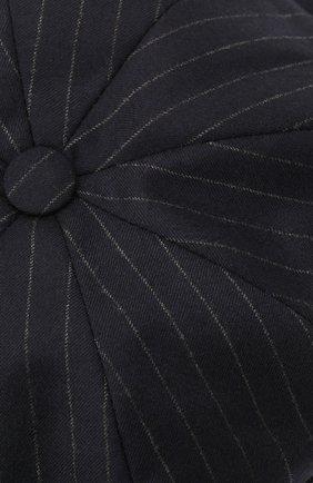 Мужская шерстяное кепи BRUNELLO CUCINELLI темно-синего цвета, арт. ML4219945 | Фото 3