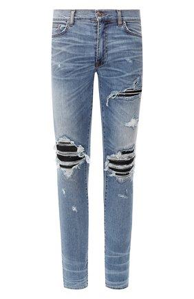 Мужские джинсы AMIRI синего цвета, арт. F9M01100SD | Фото 1