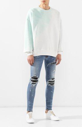 Мужские джинсы AMIRI синего цвета, арт. F9M01100SD | Фото 2
