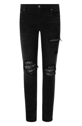 Мужские джинсы AMIRI черного цвета, арт. F9M01124SD | Фото 1