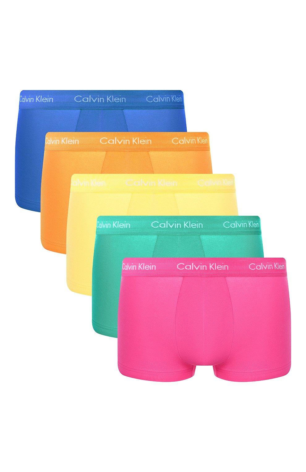 Мужские комплект из хлопковых боксеров CALVIN KLEIN разноцветного цвета, арт. NB1348A | Фото 1