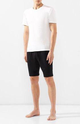 Мужские хлопковые шорты CALVIN KLEIN черного цвета, арт. NM1593E | Фото 2