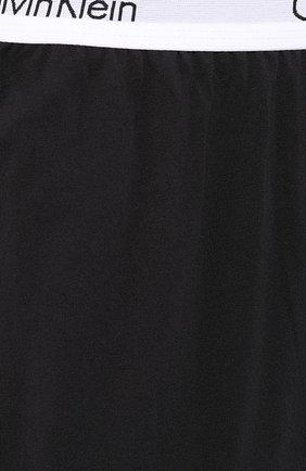 Мужские хлопковые шорты CALVIN KLEIN черного цвета, арт. NM1593E | Фото 5