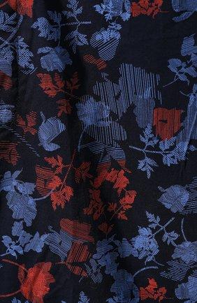 Мужские хлопковые брюки CALVIN KLEIN синего цвета, арт. NM1664E | Фото 5