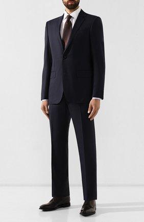 Мужской кожаные дерби BARRETT темно-коричневого цвета, арт. 162U018.2/NEW B0X | Фото 2