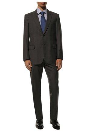 Мужской кожаные дерби BARRETT черного цвета, арт. 192U042.4/CERV0 | Фото 2