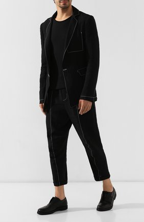 Мужские кожаные оксфорды ROCCO P. черного цвета, арт. 7019X/BISH0ND0 | Фото 2